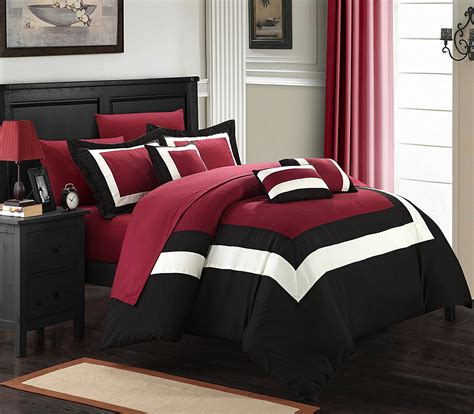 black and red bedroom ideas red and black bedroom comforter www indiepedia org