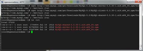 how to install mysql 56 on centos 63redhat el6fedora how to install mysql 5 5 on centos 6 3 redhat el6 fedora