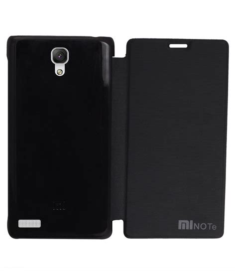 Flip Cover Xiaomi Note rdcase flip cover for xiaomi redmi note prime black flip covers at low prices