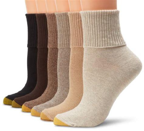 gold toe s turn cuff socks pack of 6 oatmeal khaki