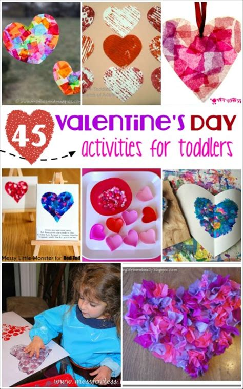 valentines day for toddler s day activities for toddlers mess for less