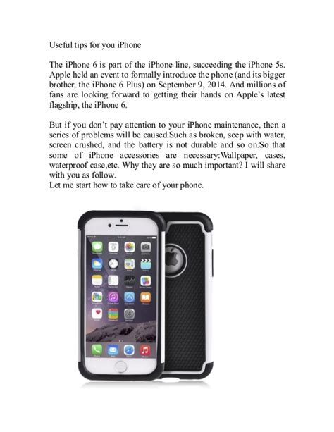 iphone 6 tips useful tips for your iphone 6