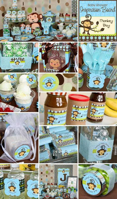 Monkey Boy Themed Baby Shower by Monkey Boy Baby Shower Or Birthday Theme Is One Of
