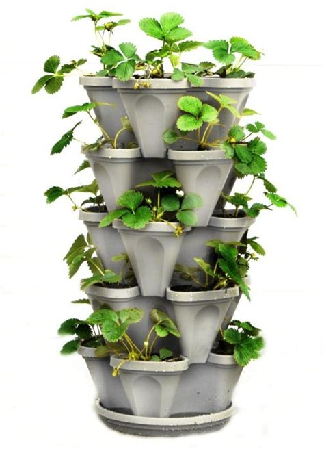 self watering vertical planters the big list of self watering planters for stylish