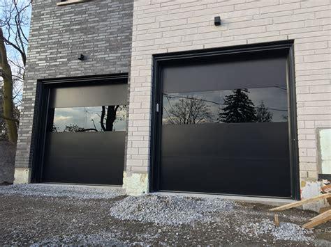 maple ontario contemporary garage doors garage doors