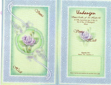 Undangan Pernikahan Murah Falah 73 handicraft unik desember 2011