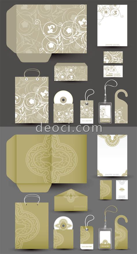 packaging templates for photoshop 2 free vector corporate the vis design templates