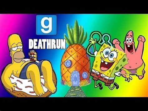 gmod deathrun maps vanossgaming gmod deathrun spongebob map garry s