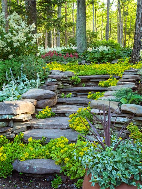 Hillside Landscaping Ideas Landscape Ideas For Hillside Backyard
