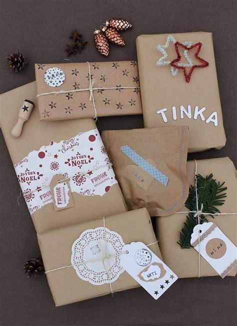 einzigartige weihnachtsgeschenke einpacken ideen auf pinterest geschenke verpacken