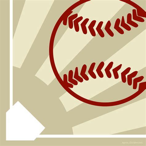 Baseball Wall Decor by Mvp Baseball Canvas Wall By Aaron Christensen