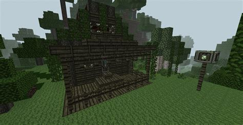 Minecraft Cabin In The Woods by Cabin In The Woods With A Secret Minecraft Project
