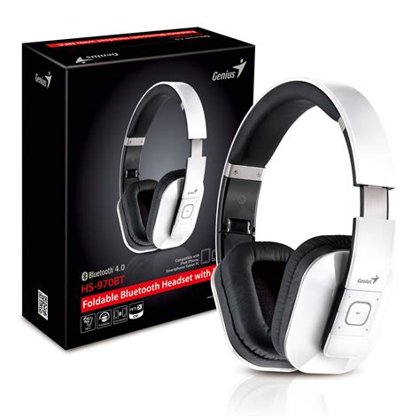 Headset Bluetooth Genius genius hs 970bt bluetooth headset news technic3d
