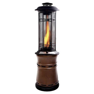 Radiant Patio Heaters Four Season Courtyard Inferno Radiant Gas Patio Heater 36 000 Btu True Value