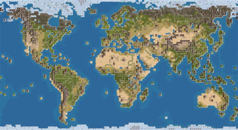 Civilization 4 World Map | earth map with 18 civs huge civfanatics forums