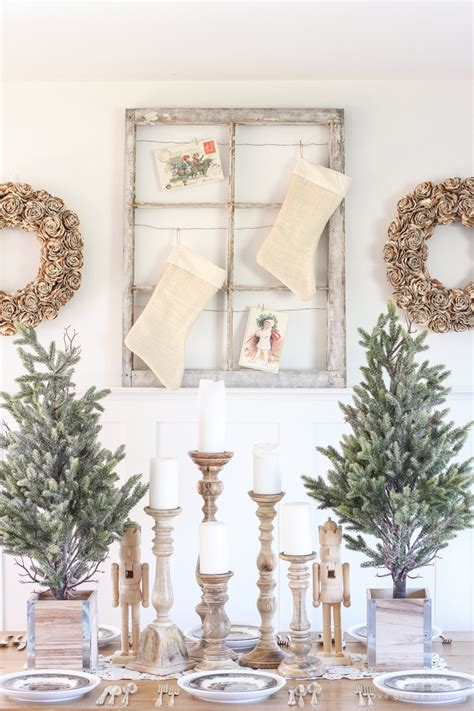adorning with a classic farmhouse inspiration decorations tree 13 bloggers share inspiration for holiday entertaining