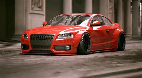 liberty walk reveals audi a5 widebody kit world pauses