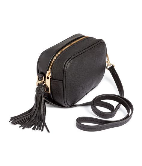 H M Shoulder Bag h m small shoulder bag in black lyst