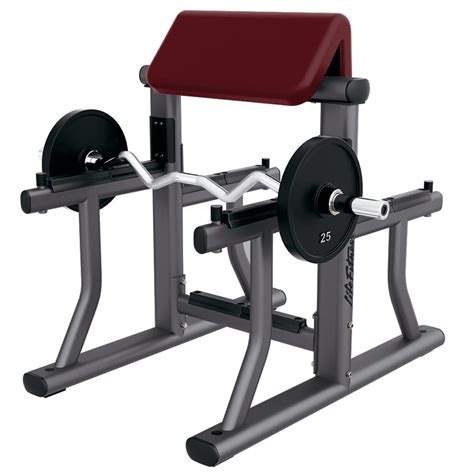 bench curl signature series arm curl bench life fitness