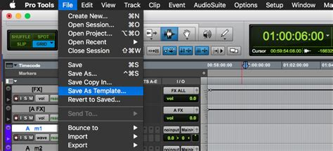 How To Create Pro Tools Session Templates For Sound Effects Editing Pse Blog Pro Tools Templates