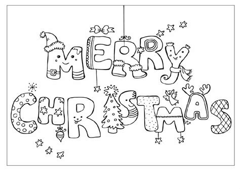 printable christmas cards you can color 5 best images of foldable card printable merry christmas