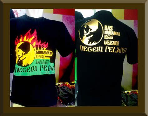 Kaos Reggae onyx printing studio