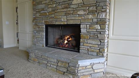 veneer fireplace honey ledge