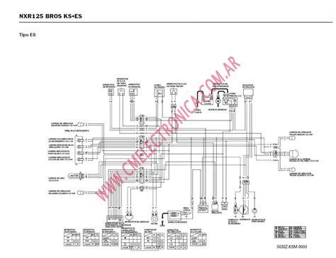 diagrama honda nxr125 bross