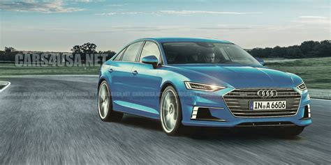 2018 audi a6 new photos release date and specs