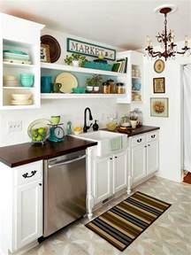 Decor Ideas For Small Kitchen by Modern Furniture 2014 Easy Tips For Small Kitchen