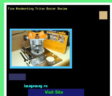 doodlebug nolan analyse triton router review woodworking review triton router by