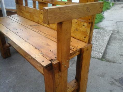bench made from pallets pallets made outdoor bench pallet ideas recycled upcycled pallets furniture projects