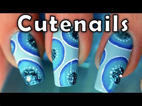 easy nail art one stroke disco one stroke nail art easy tutorial by cute nails