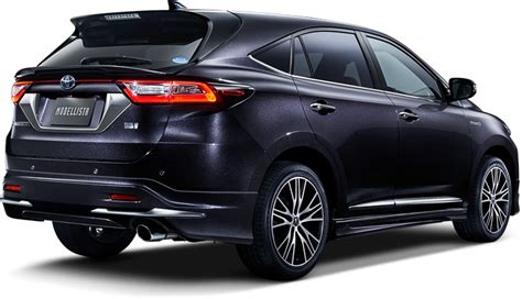 new sports speedicars toyota harrier toyota harrier gets 2 0l turbo modellista kit and wild