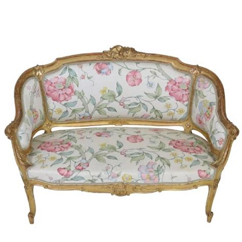 vintage settee for sale antique french gilt carved settee for sale at 1stdibs
