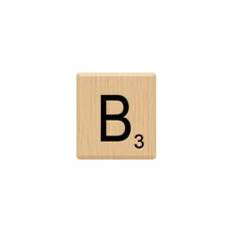 b words scrabble b scrabble tile liked on polyvore featuring fillers