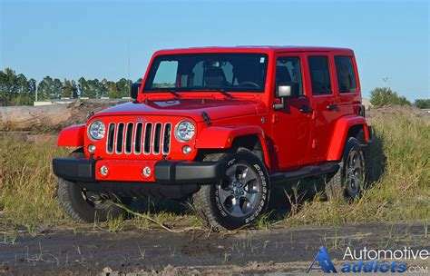 Jeep Wrangler Unlimited 2016 Jeep Wrangler Unlimited Review Test Drive
