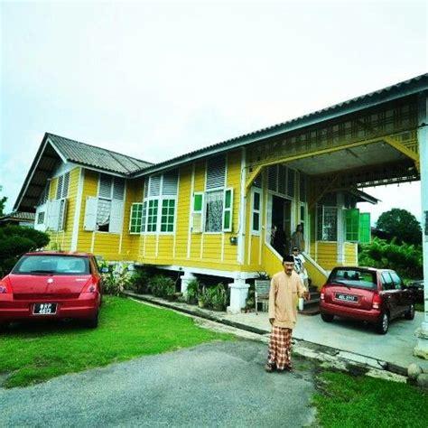 rumah rumah tradisional di malaysia rumah kung kung house pinterest