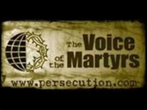 The Voices Of Martyrs collective sundays 8 20 12 8 26 12 daily devotionals