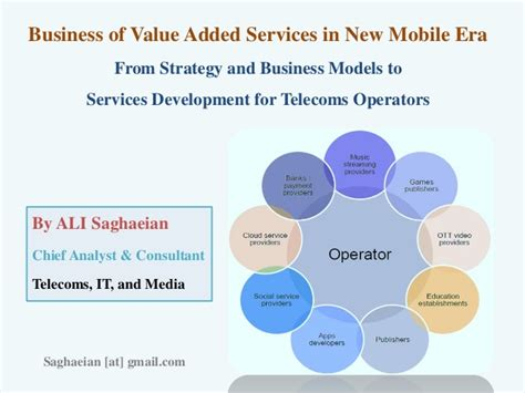 mobile vas services business of value added services in new mobile era from