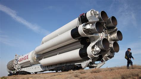 Russian Proton by Russian Proton Rocket Set To Deploy Telecom Satellite For
