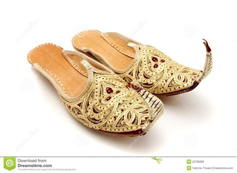 curly slippers curly toed slippers royalty free stock images image