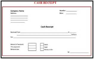 Template For Receipts by 6 Receipt Templates Word Excel Pdf Templates