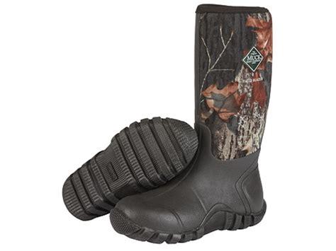 muck fieldblazer boots muck fieldblazer boots rubber mossy oak mpn fld