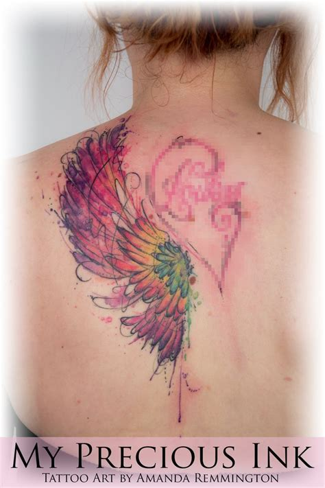 watercolor tattoo wings 147 best images about my precious ink on