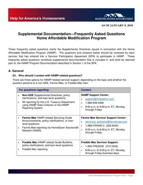 home affordable modification program home affordable modification program