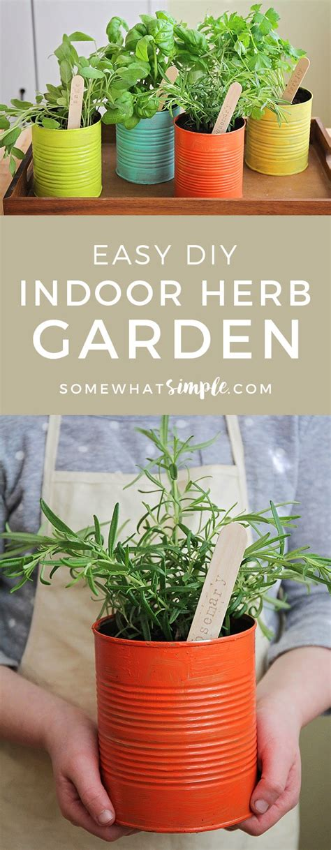 easy indoor herb garden how to make your own indoor herb garden somewhat simple