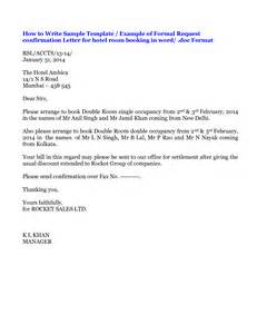 hotel room booking cancellation letter sle 28 images