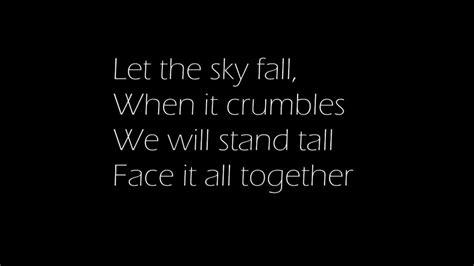 adele skyfall lyrics quot adele quot skyfall with lyrics