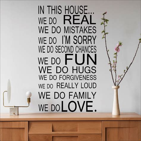 printable wall stencils quotes large quote house rules family love fun art wall sticker